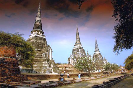 Dovolená Thajsko - fotografie