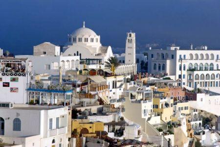 Dovolená ostrov Santorini - fotografie